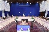 رئیس و اعضای شورای مرکزی جامعه روحانیت مبارز با رئیس جمهور دیدارکردند